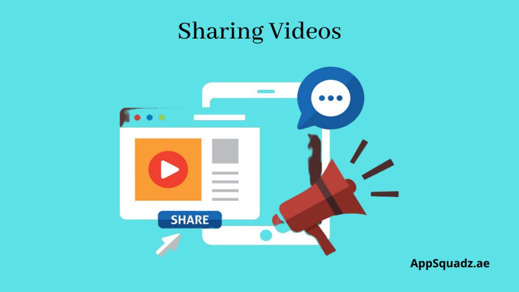 Sharing Videos on Various Platforms