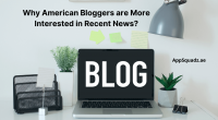 Why American Bloggers are More Interested in Recent News?