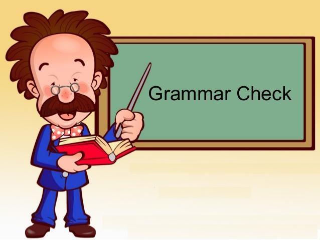 What are Grammar checker?